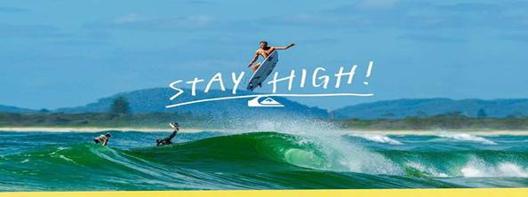 Quicksilver Surfing Advertisement