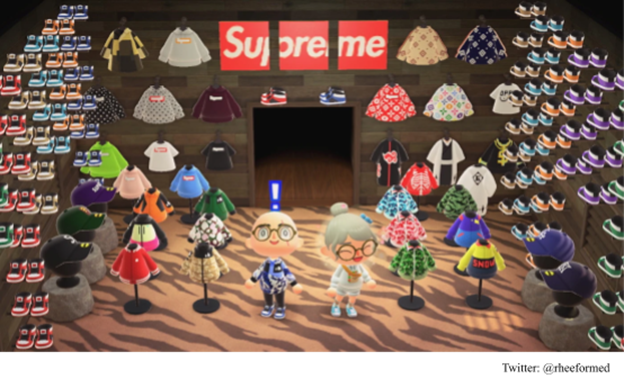 Supreme Brand Integration In Video Games In Animal Crossing