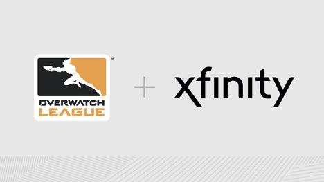 Xfinity esports brand integration with Overwatch, Blizzard