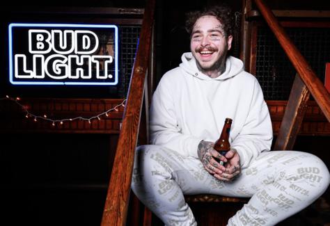 Post Malone Bud Light Sponsorship Alcohol