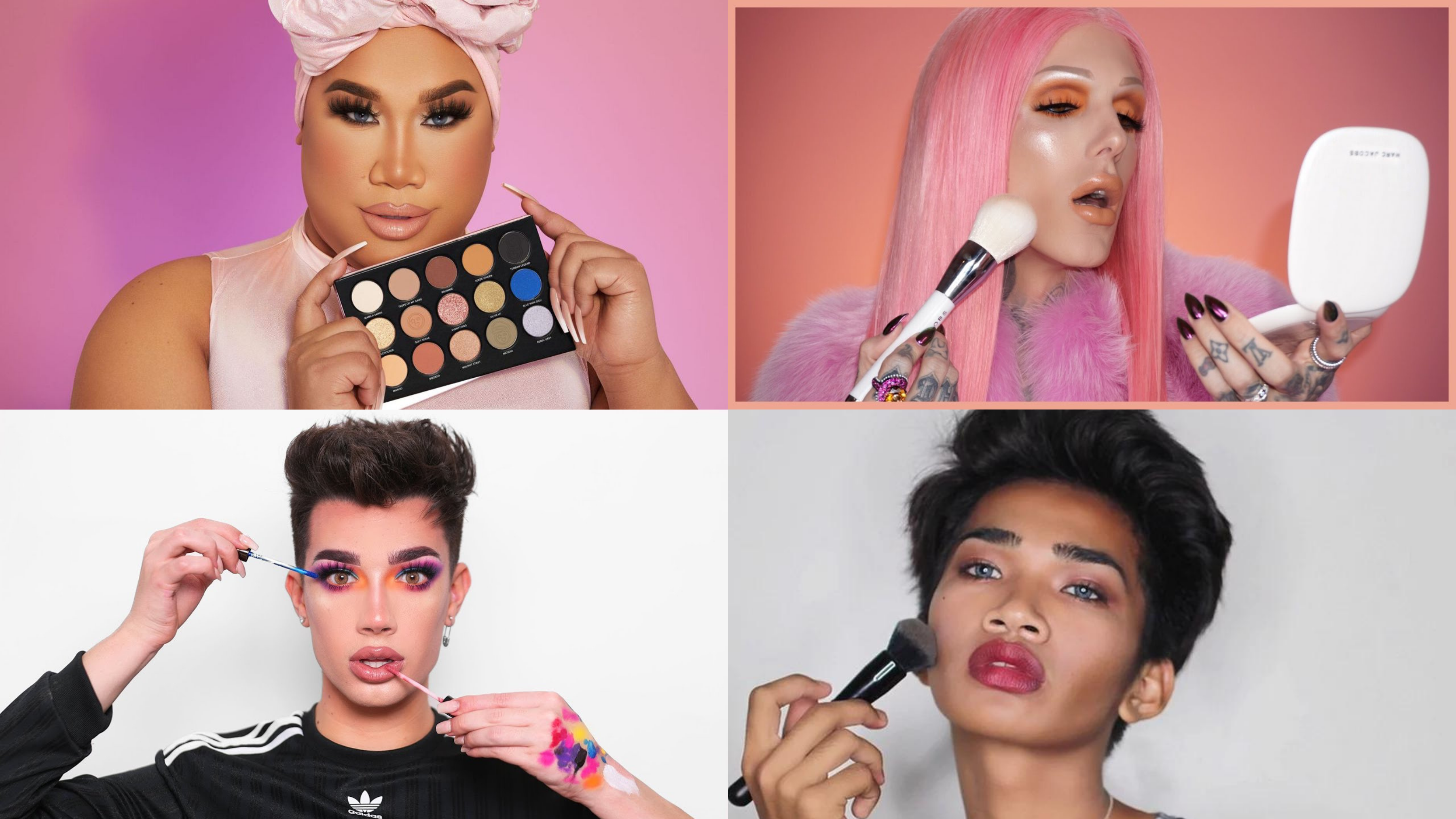 male beauty, beauty gurus, youtuber, James Charles, Patrick Starr, jefrey star, bretman rock, makeup tutorial, viral video