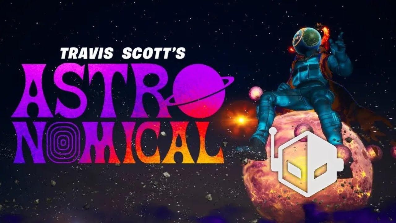 Travis Scott Astroworld Astronomical THE SCOTTS