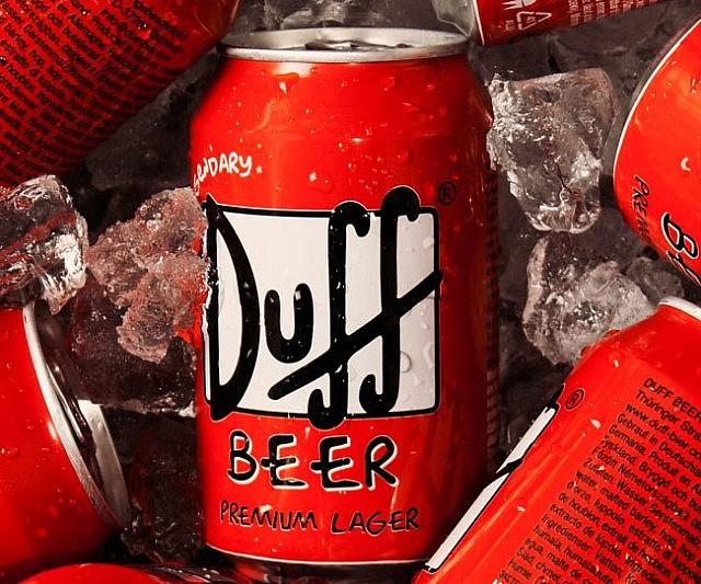 Simpsons Duff Beer Marketing