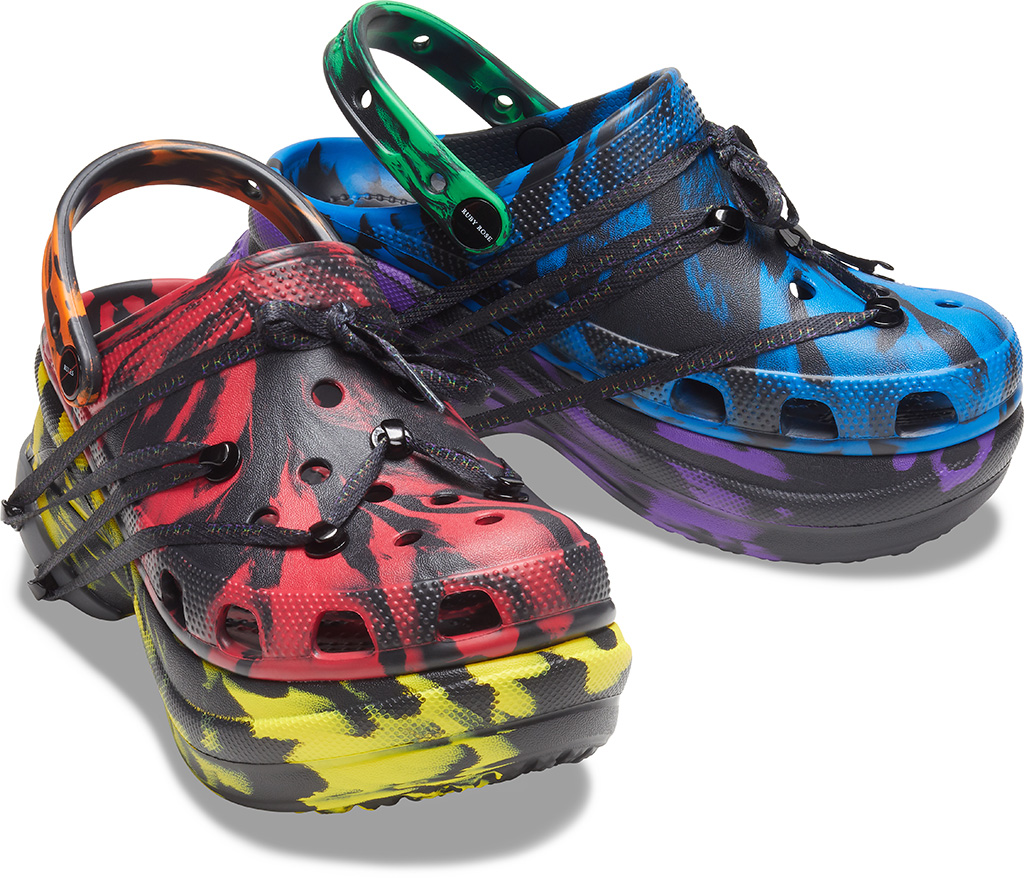 ruby rose crocs just front