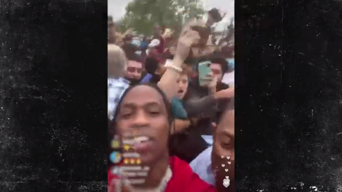 travis instagram livestream at mcdonalds