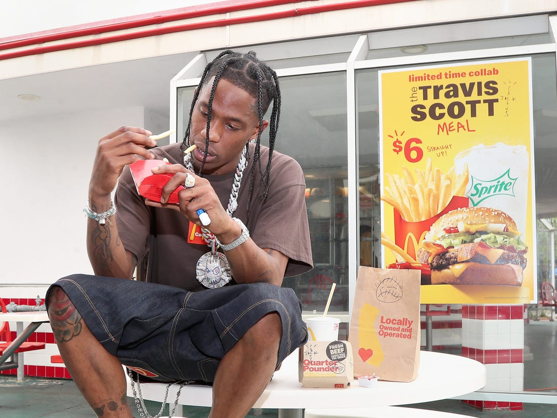 travis scott mcdonalds ad