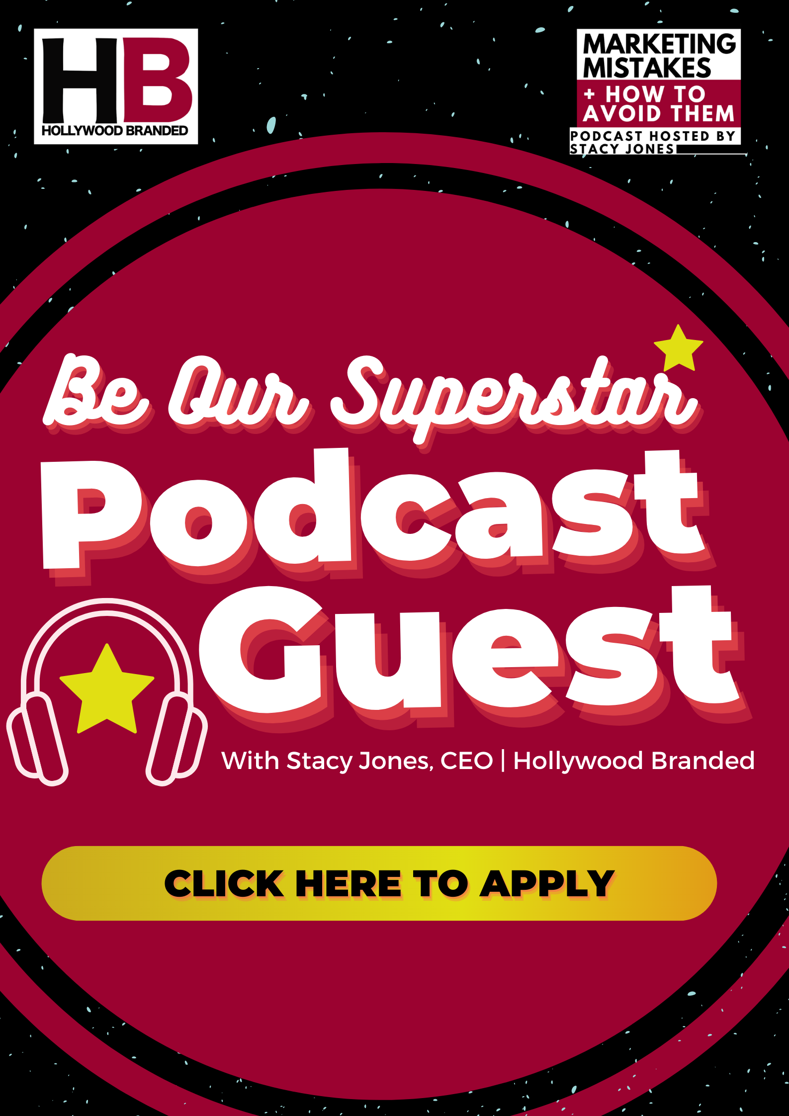 be our guest - Hollywood Branded marketing mistakes podcast