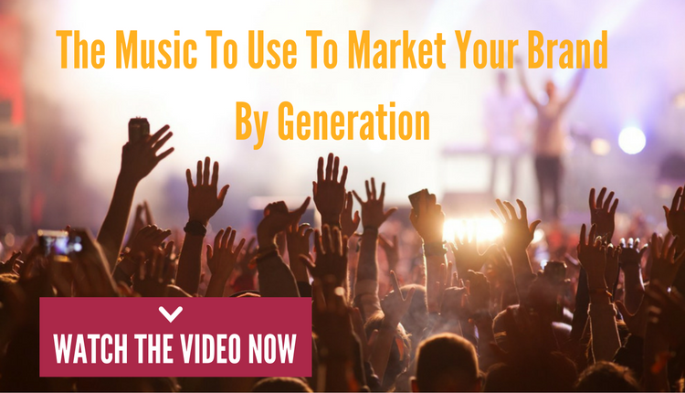 The Music For Marketing Your Brand By Generation