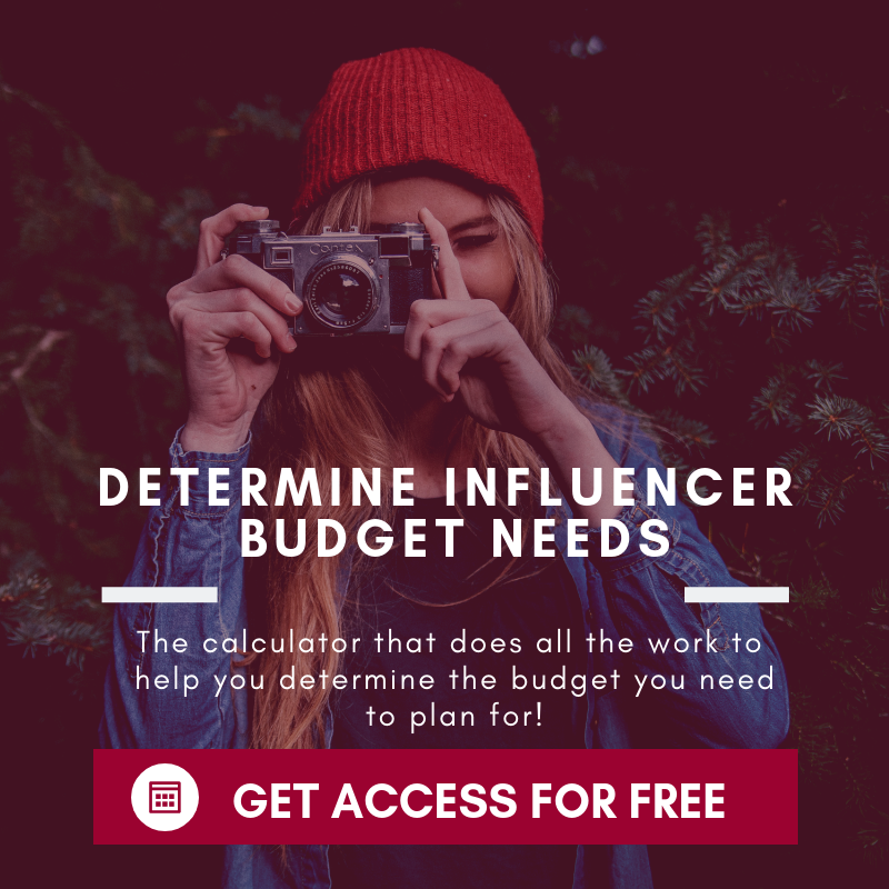 influencer cost calculator