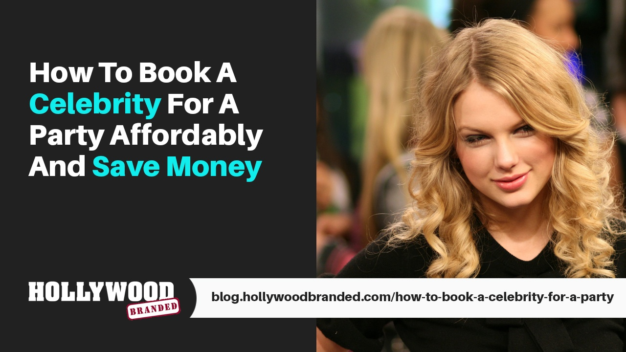How To Video #02: How To Book A Celebrity For A Party Without Spending Millions