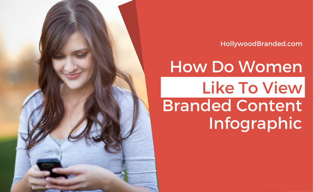 How Do Women Like To View Branded Content? [Infographic]