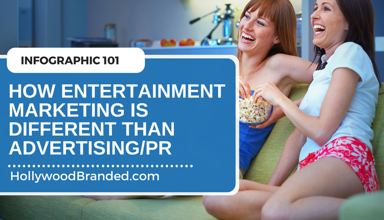 Podcast Eps 19: How Entertainment Marketing Is Different Than Advertising [Infographic]
