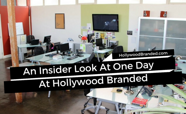 A Day In The Life At Hollywood Branded