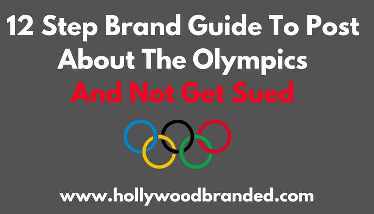 12 Step Brand Guide To Post About The Olympics And Not Get Sued
