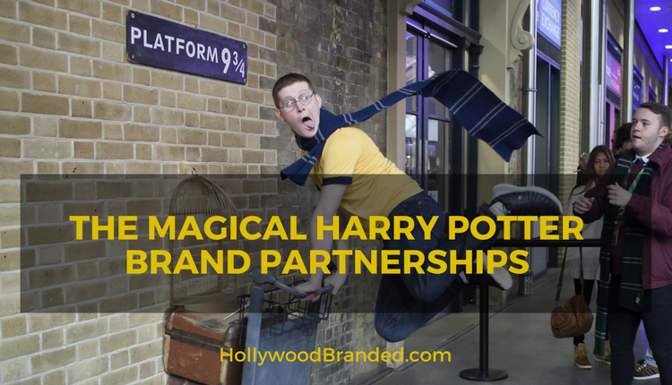 The Magical Harry Potter Brand Partnerships [Infographic]