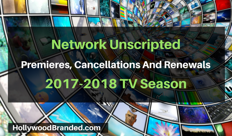 Upcoming Unscripted Shows For The 2017/2018 TV Season