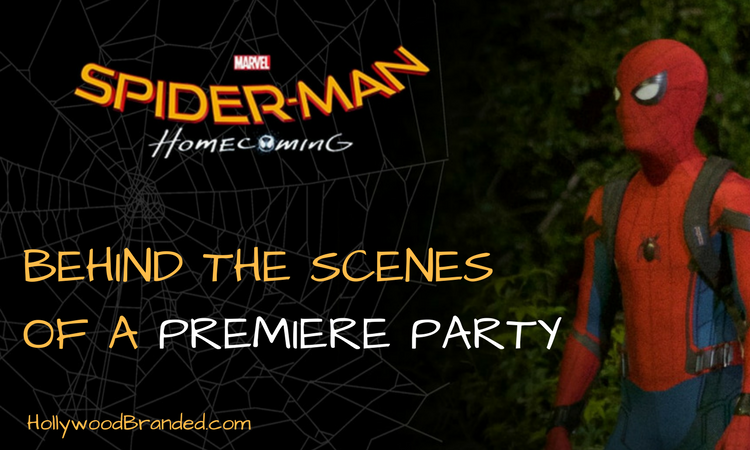 Spider-Man:  Homecoming Premiere Behind The Scenes Of Hollywood Branded