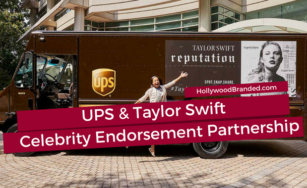 How UPS Took Celebrity Branding Partnerships To The Next Level