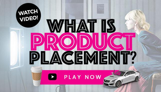 Watch the video to learn what is Product Placement